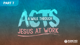 Acts | Part 7: Peter's Powerful Preaching (Part 1)