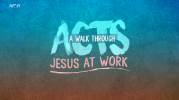 Acts | Part 84: Where is the Line?