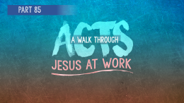 Acts | Part 85: Where is the Line? Part II Why the Authority Exists